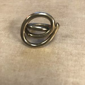 Jewelry - Funky sterling silver statement ring